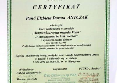 Certyfikat Ela 02