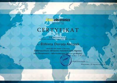 Certyfikat Ela 01