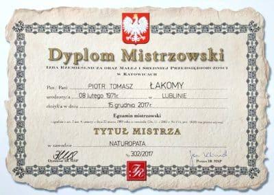 Dyplom Piotr
