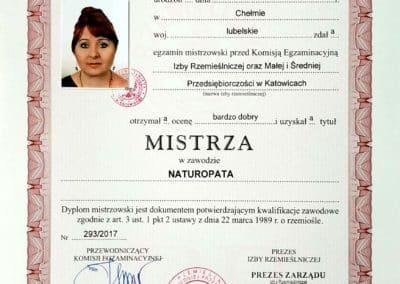 Certyfikat Ela 04